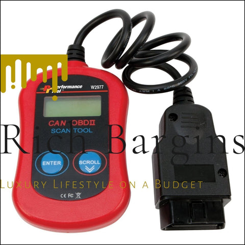 Performance Tool OBDII Diagnostic Scan Tool - Knives and Multitools