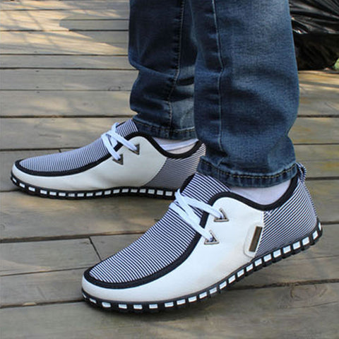 North Mens lace up casual shoes
