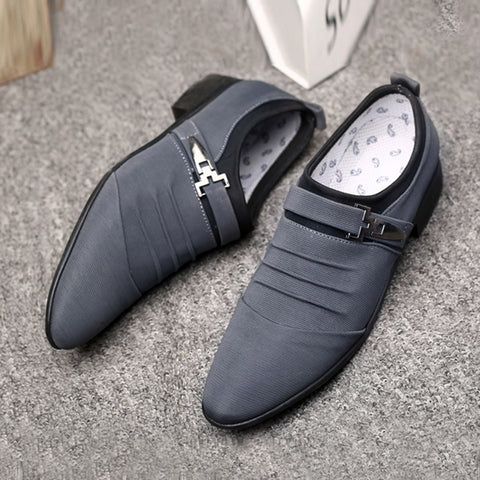 Casual Slip On Men Dress Shoes
