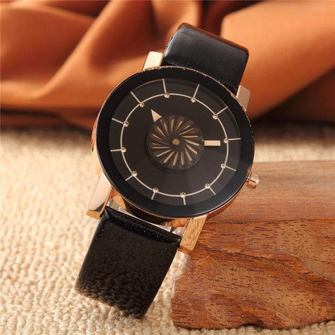 Unisex Synthetic Leather Watch