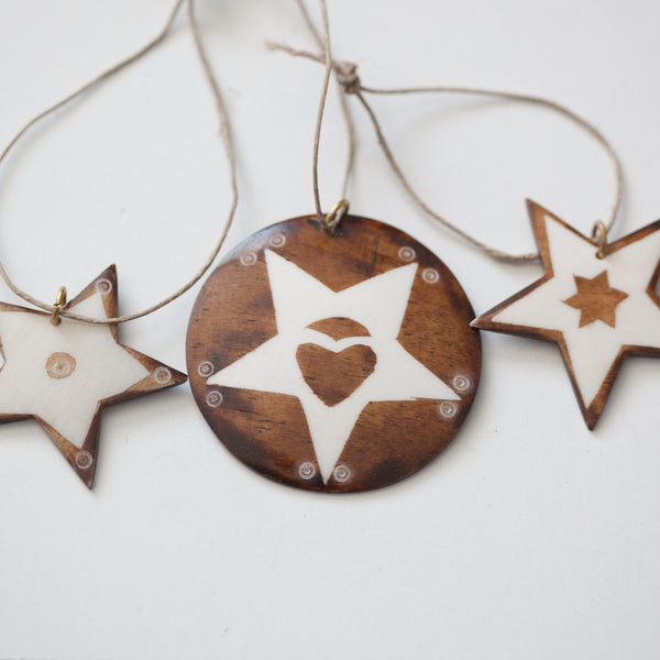 Set of 3 Christmas Ornaments