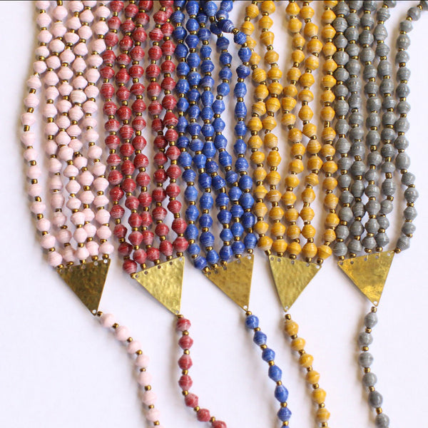 Shirikiana Necklace - various colours