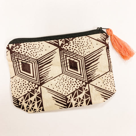 Pouch with Tassel