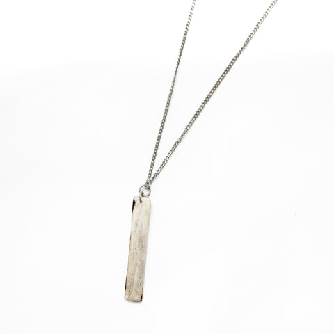 Grey Bar Necklace