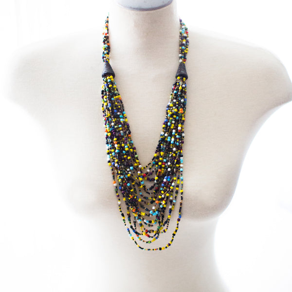 MultiColour MultiStrand Beaded