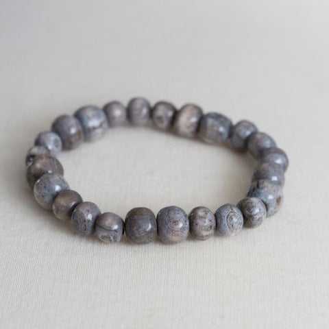 Men's Grey Bone bracelet