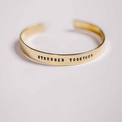 Stronger Together Bangle