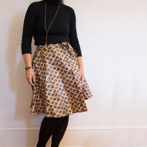 Short Wrap Skirt