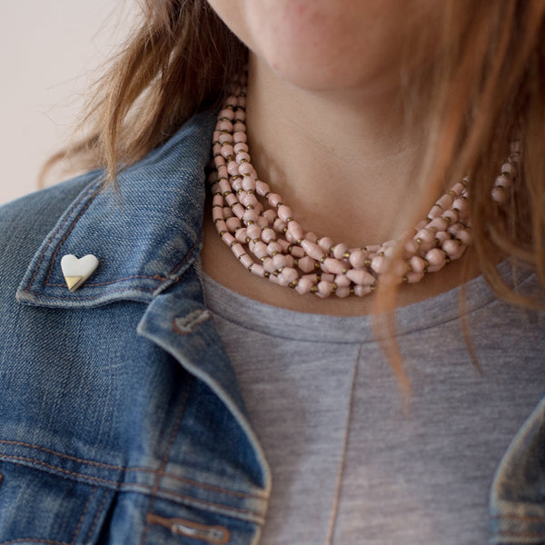 Blush Choker Necklace