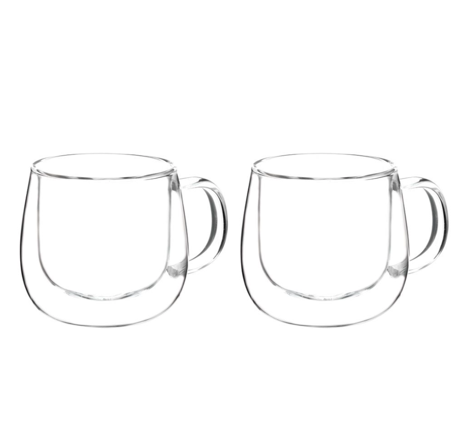 FRESNO Double Wall Glass Cups