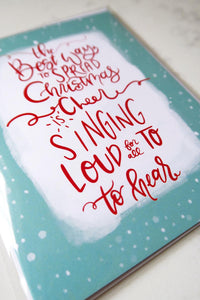 Copy of Card - Holiday - Elf Quote