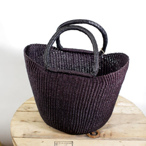 Shopping Basket - Black