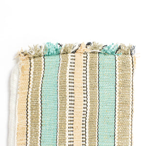 Frill Mini Pouch - Country Teal