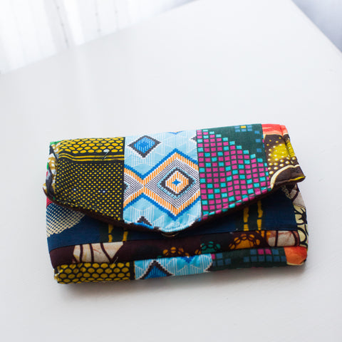 Small Patchwork Pouch #1 - Price reduced