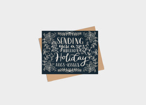 Card - Holiday - Million Holiday Hugs