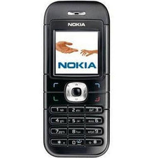 Nokia 6030 black color