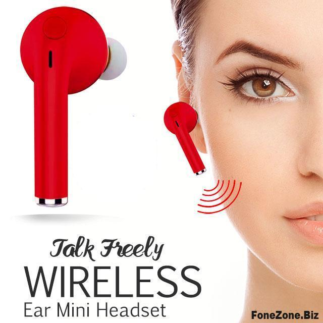 Wireless Bluetooth Single Ear Mini Headset