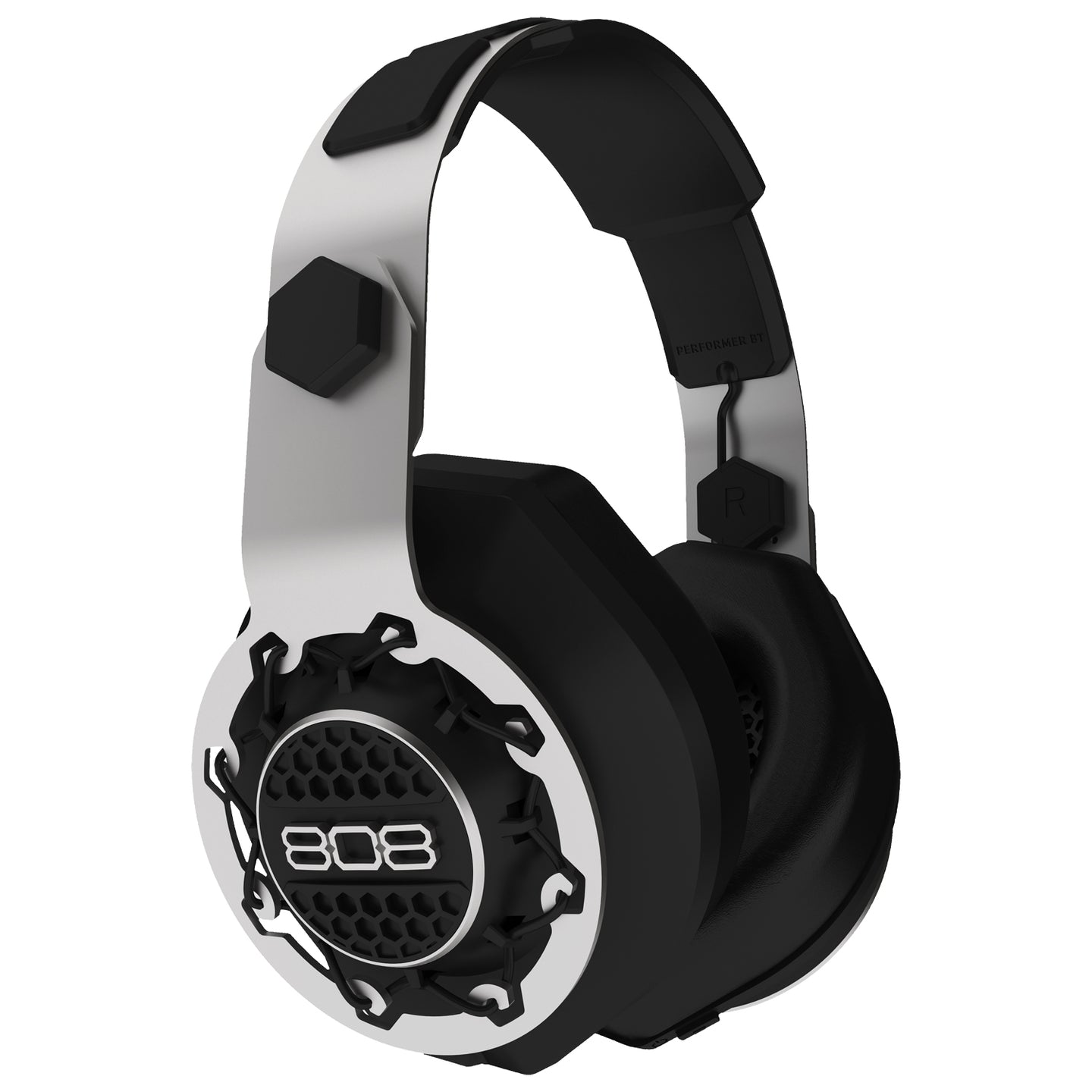 808 Audio Performer Bluetooth Headphones Black