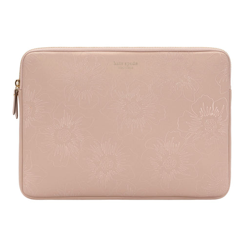 Kate Spade Slim Sleeve Pale Vellum Reverse Hollyhock for Mac Book Pro 13 inch (BAGS and SLEEVES)