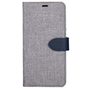 Blu Element 2 in 1 Folio Case Grey/Blue for iPhone SE/5S/5