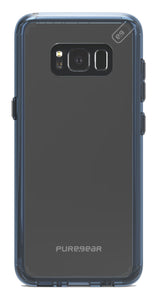 Puregear Slim Shell Pro Case Clear/Blue for Samsung Galaxy S8 Galaxy S8