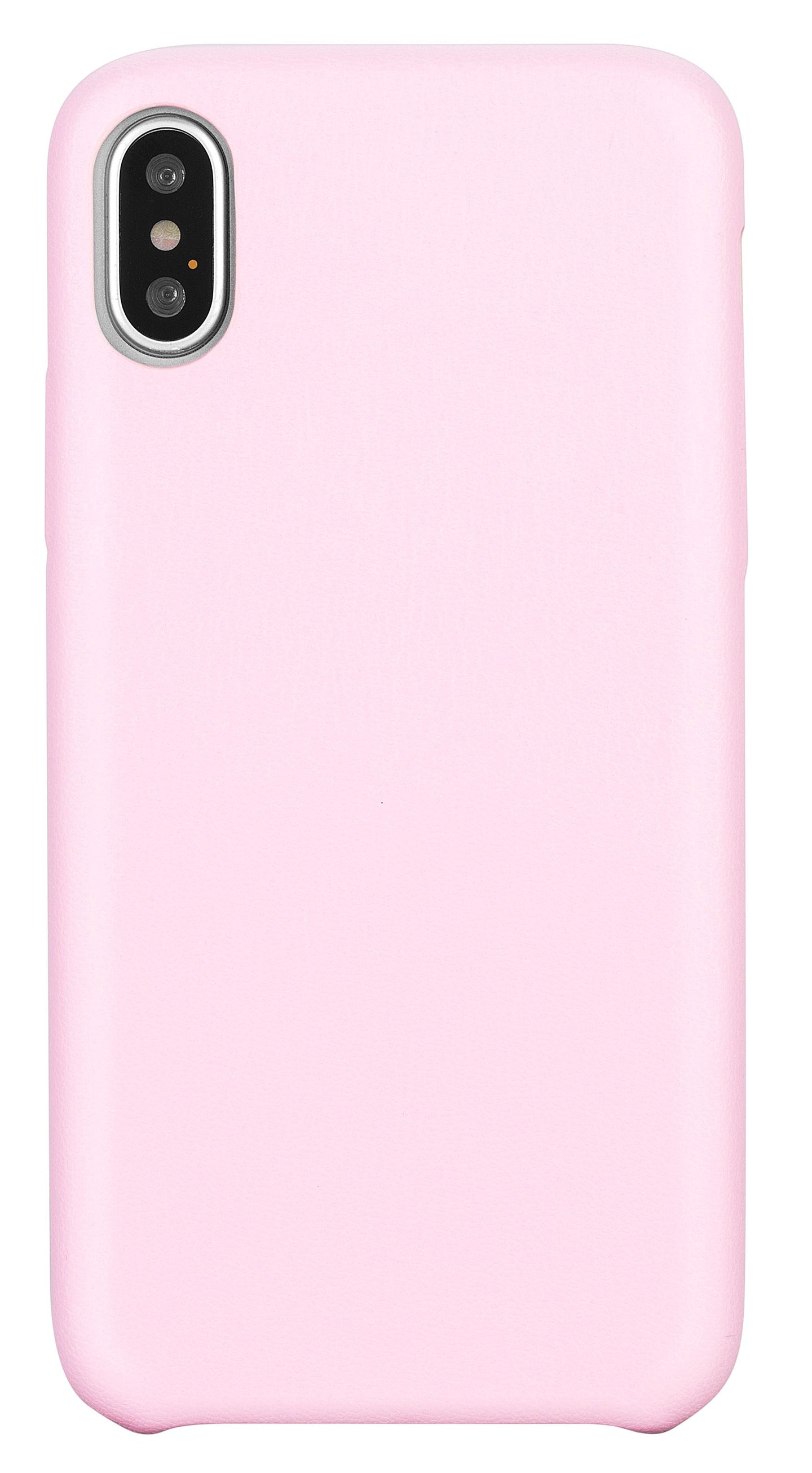 Blu Element Velvet Touch Case Pink for iPhone XS/X
