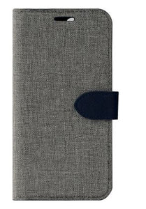 Blu Element Simpli Folio Case Grey/Navy for iPhone XS/X