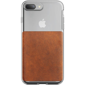 Nomad Clear Case Brown for iPhone 8 Plus/7 Plus