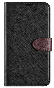 Blu Element BSPQ6BK Simpli Folio LG Q6 Black/Brown