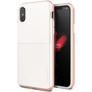 Vrs Design High Pro Shield Slim Case White/Rose Gold for iPhone XS/X