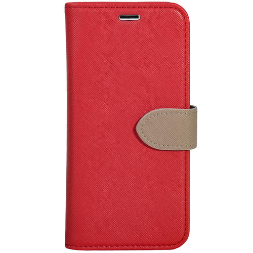Blu Element 2 in 1 Folio Case Red/Butterum for iPhone 8 Plus/7 Plus/6S Plus/6 Plus