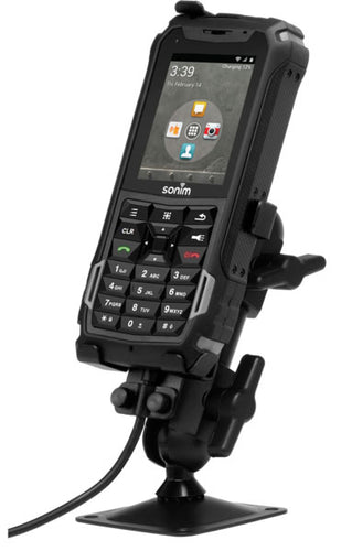 Sonim AVH03G Passive Car Cradle & Pedestal Mount XP5
