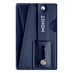 Monet Wallet Kickstand Genuine Leather Royal Blue
