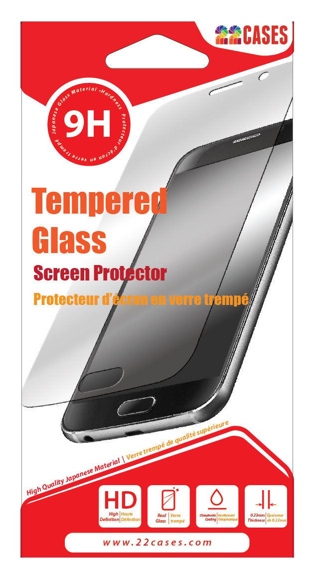 22 cases Glass Screen Protector for Huawei P30 Lite