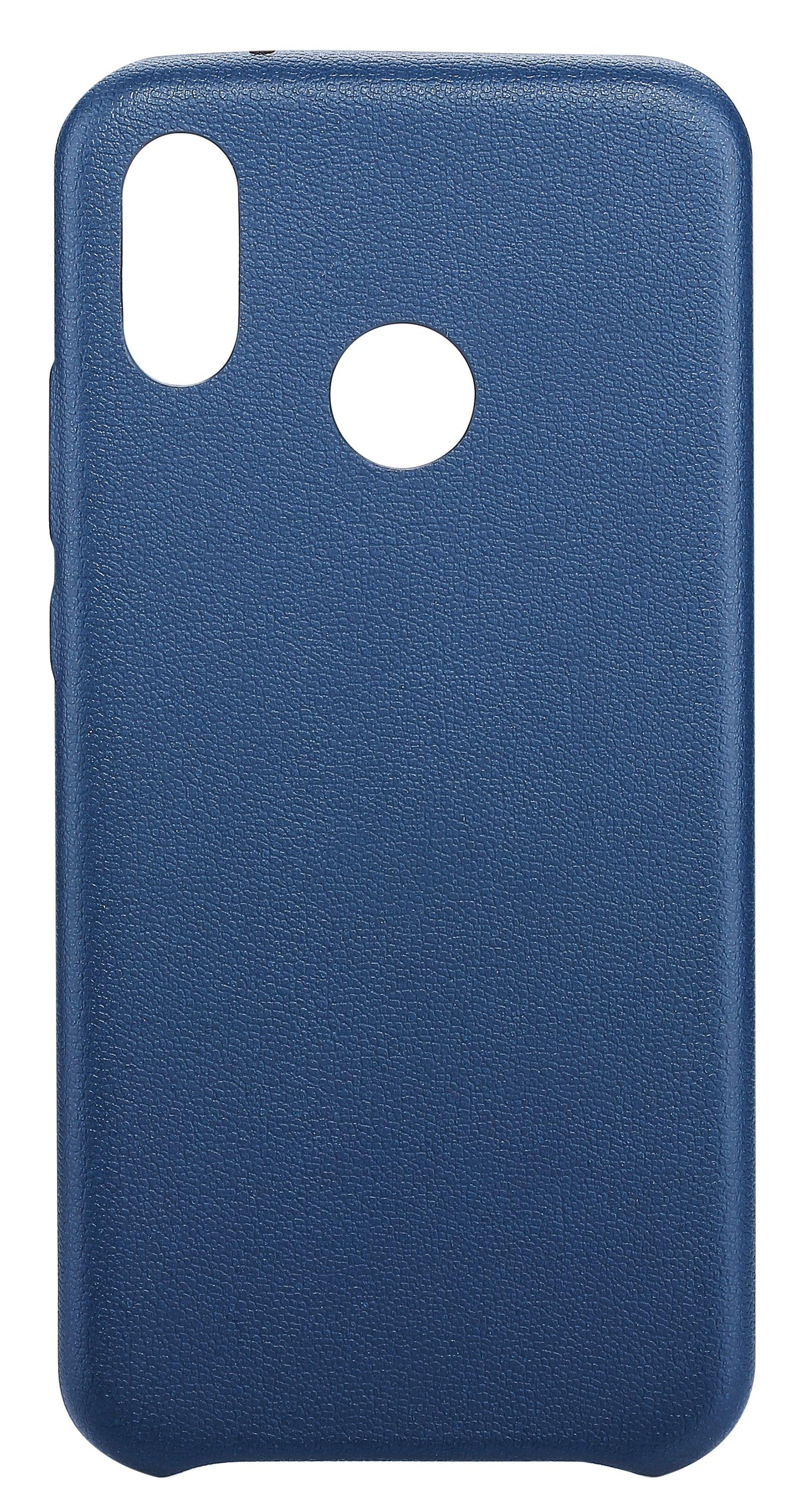 Blu Element Velvet Touch Case Navy Blue for Huawei P20 Lite