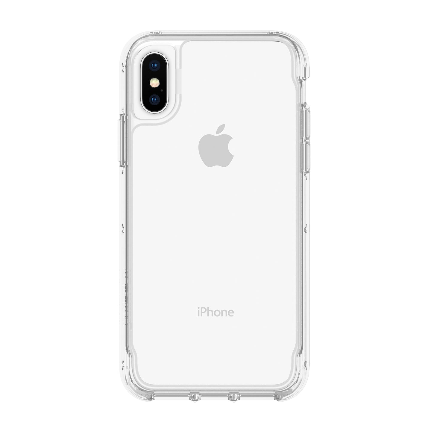 Griffin Survivor Clear Protective Case Clear for iPhone XS/X