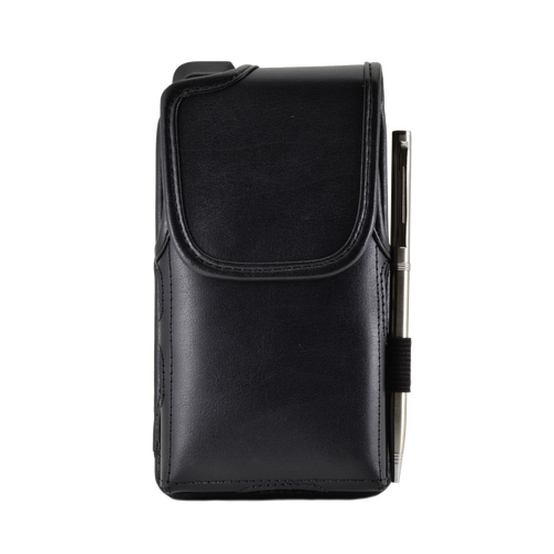 Sonim Leather Pouch with Metal Clip Black for XP8