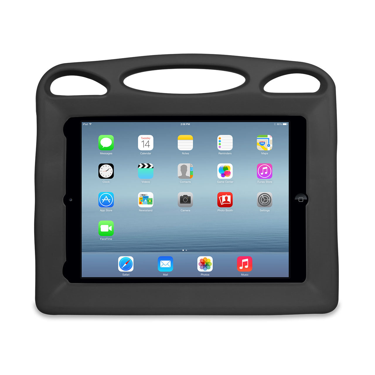 Big Grips Lift Case Black Bulk for iPad Pro 12.9 2017/ Pro 12.9 2015