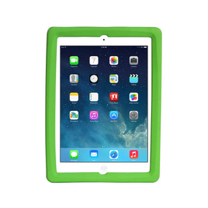 Big Grips Slim Case Green Bulk for iPad 9.7 2018/iPad 9.7 2017/iPad Air 2/Air