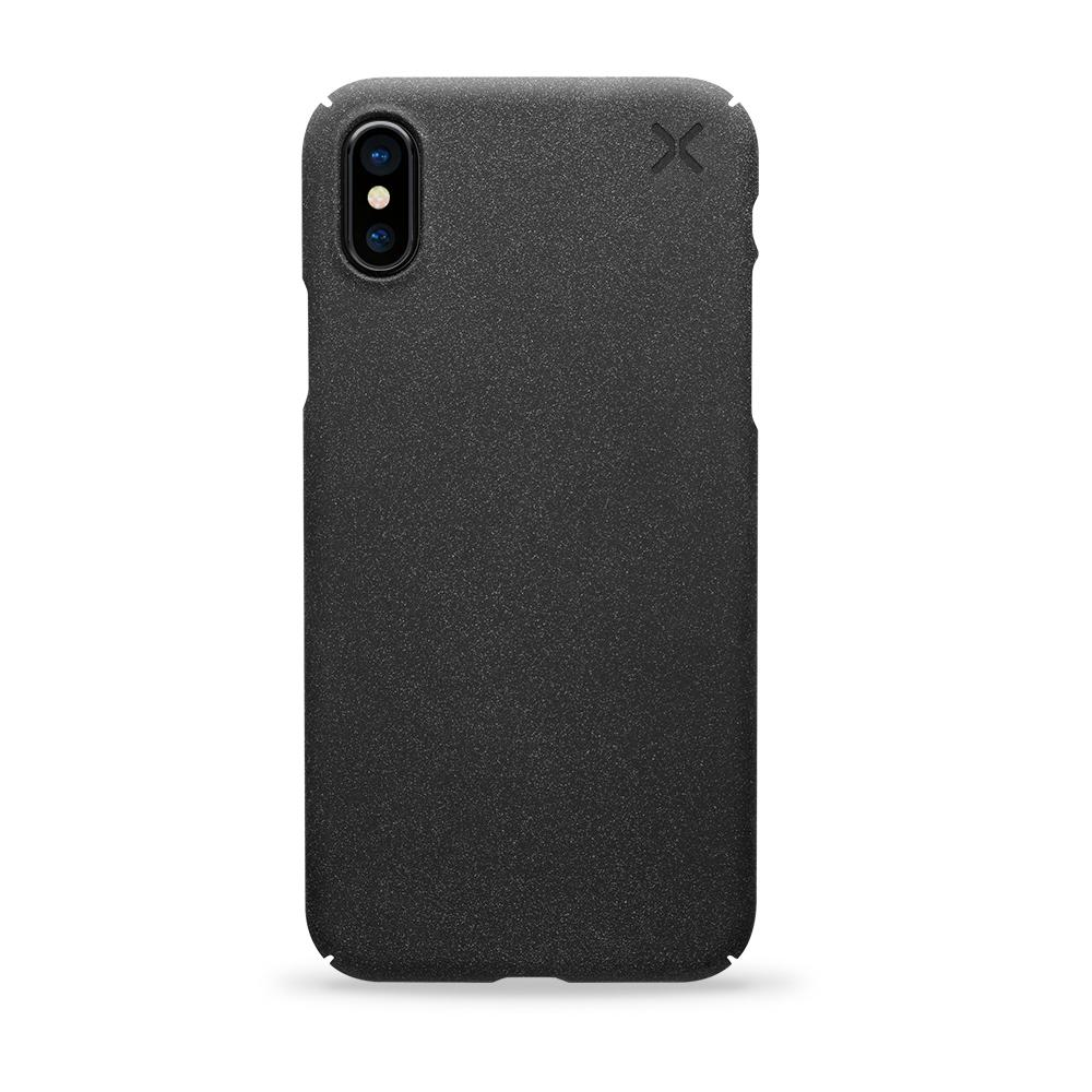 Casetify X Essential Snap Sand Dust Case Matte Black for iPhone XS/X