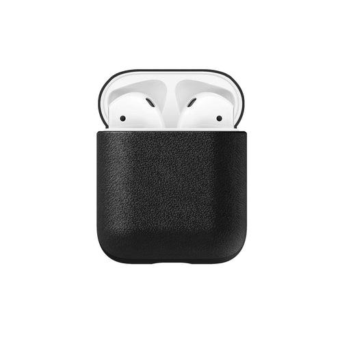 Nomad Rugged Leather Case Black for AirPods