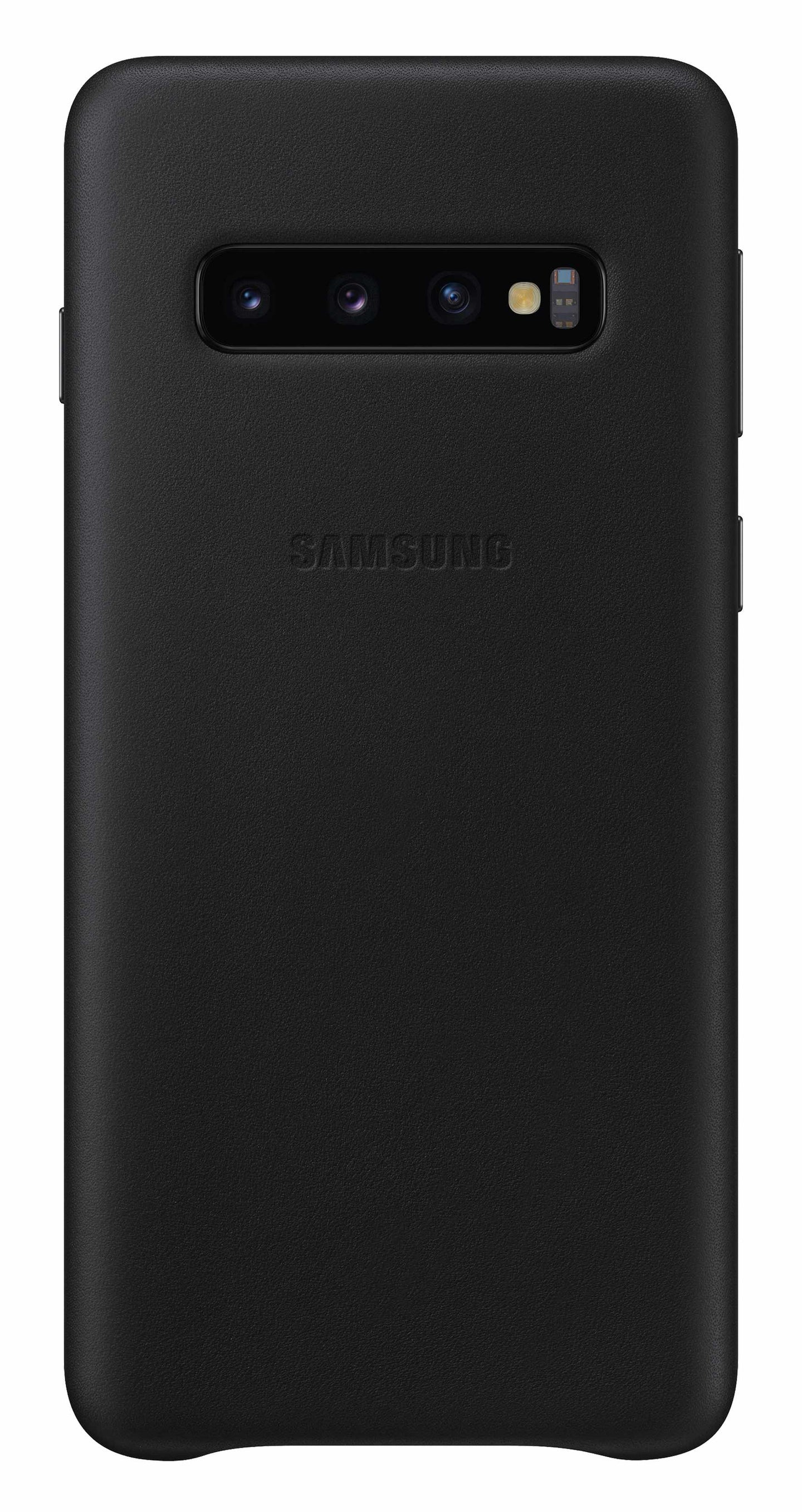 Samsung Leather Cover Case Black for Samsung Galaxy S10+