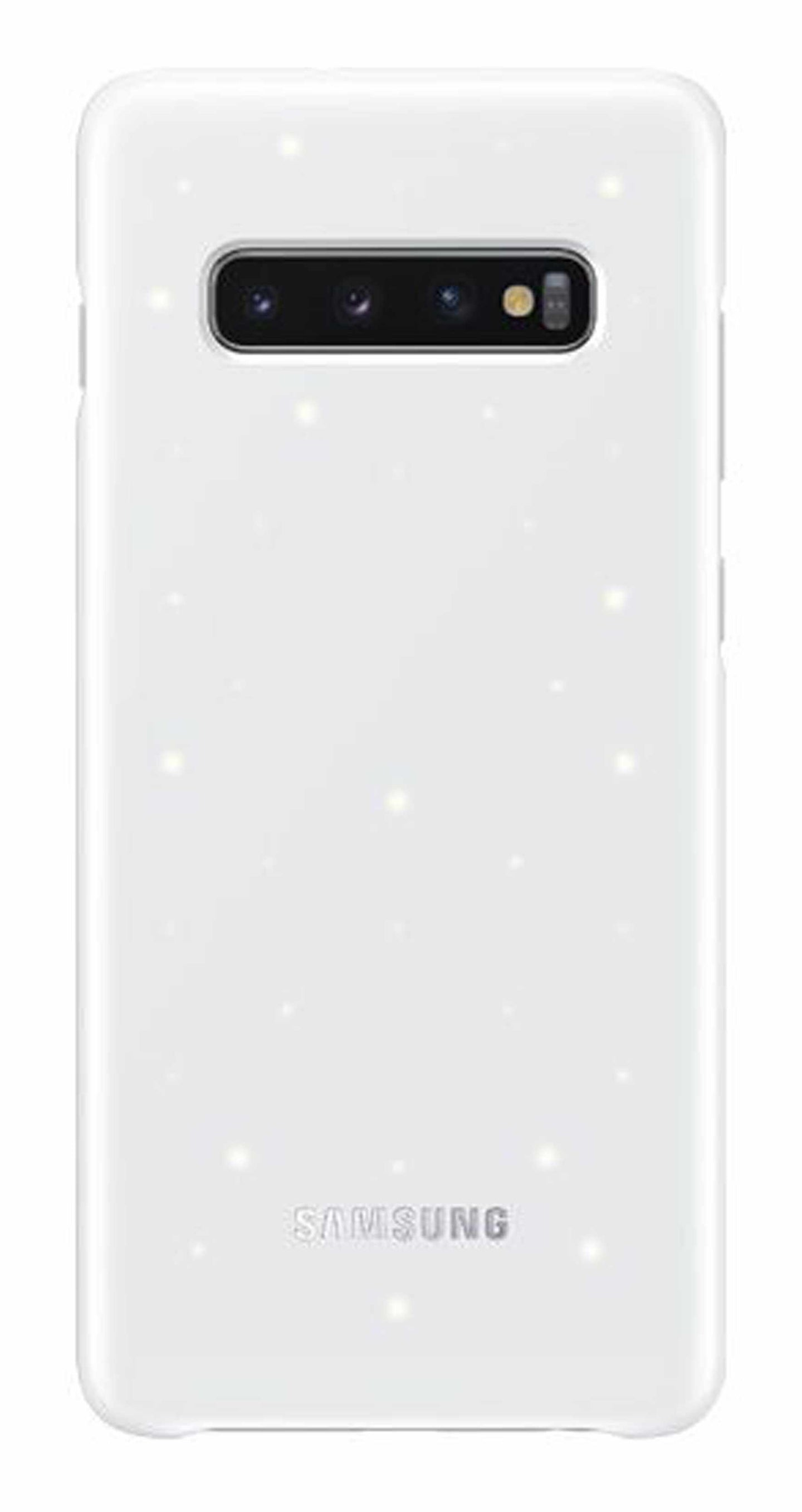 Samsung LED Back Cover Case White for Samsung Galaxy S10+