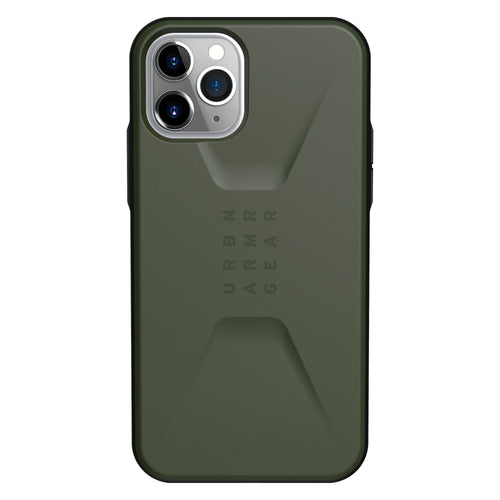 UAG Civilian Rugged Featherlight Case Olive Drab for iPhone 11 Pro