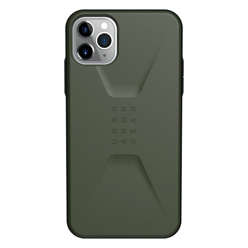 UAG Civilian Rugged Featherlight Case Olive Drab for iPhone 11 Pro Max