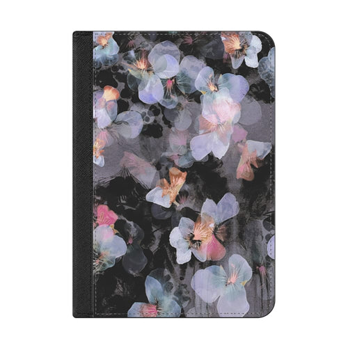 Casetify Folio Case Watercolor Painted Delicate Pansy Petals for iPad Mini 5