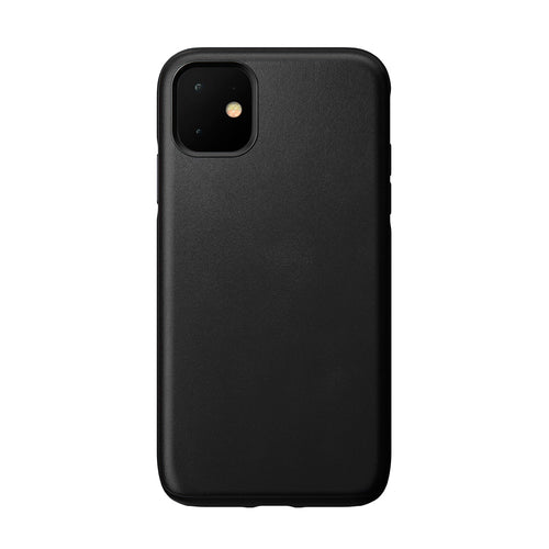 Nomad Rugged Leather Case Black for iPhone 11 (Cases)