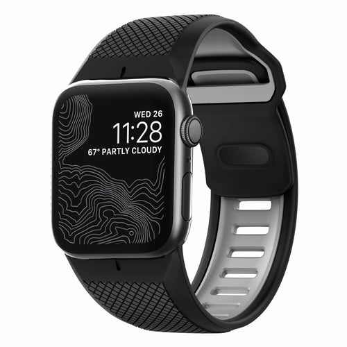 Nomad Rugged Band Black for Apple Watch 44/42mm