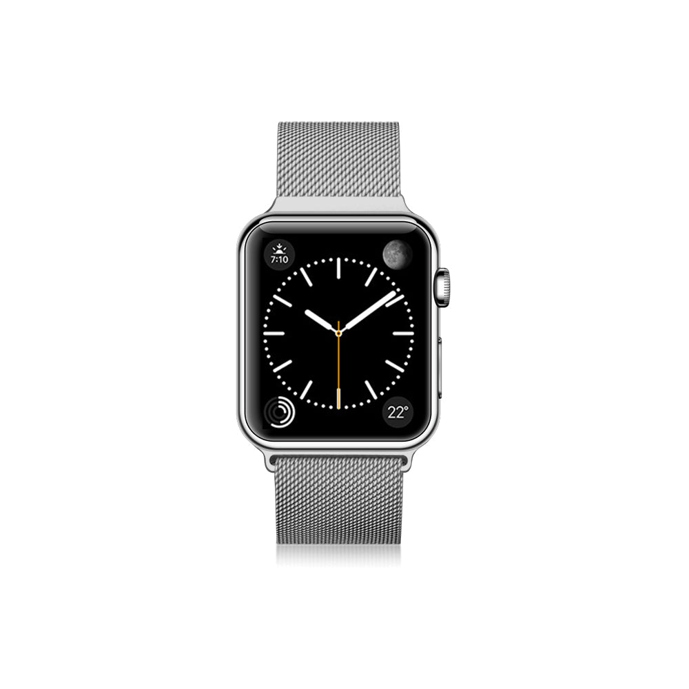 Casetify Stainless Steel Band Silver for Apple Watch 40/38mm