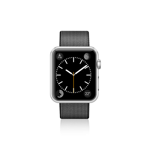 Casetify Nylon Fabric Band Black for  Apple Watch 40/38mm
